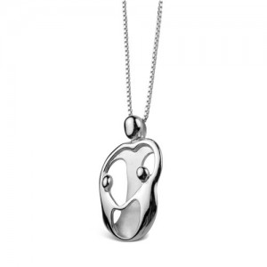 Mother And Child Necklace - two children